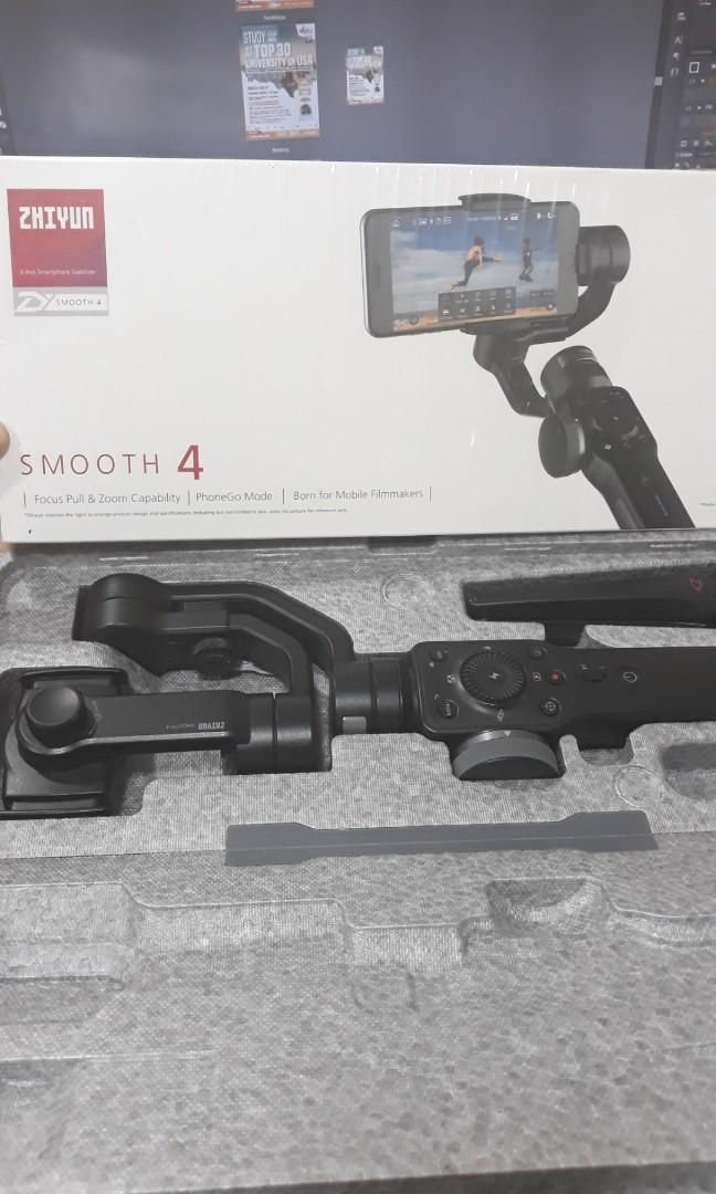 Automatic Stabilizer Zhiyun Smooth 4 #maujam