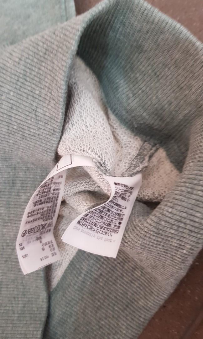Sweater branded anak muji japan ori size 2-3thn