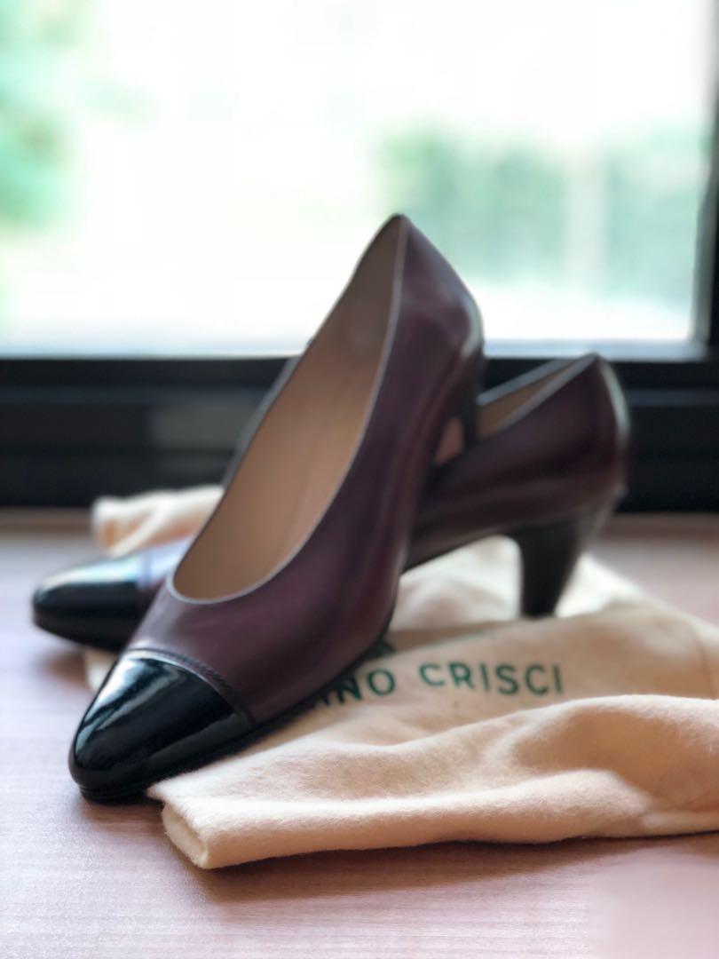 7994068cabd90 Tanino Crisci Vintage Leather Pumps, Women's Fashion, Shoes, Heels ...