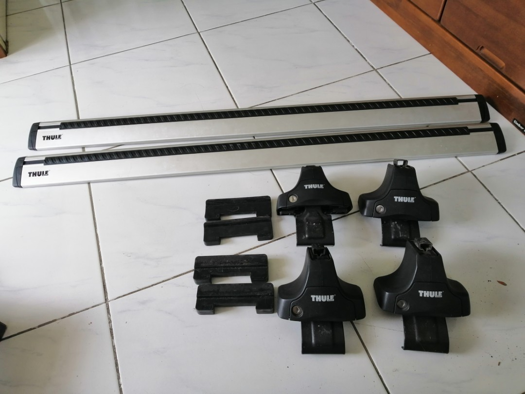 Thule Wingbar 960 Thule Rapid System 754 Thule Fit Kit 1465 Car Parts Accessories On Carousell
