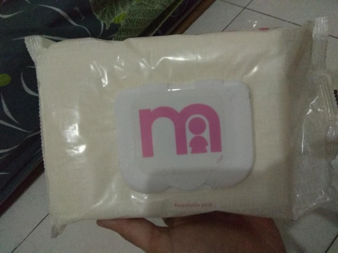 Tissue basah mothercare