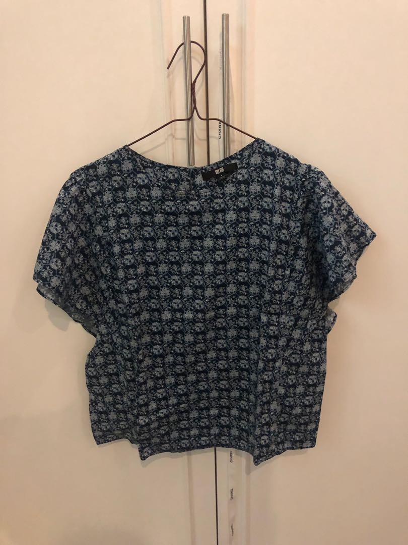 Uniqlo batik top