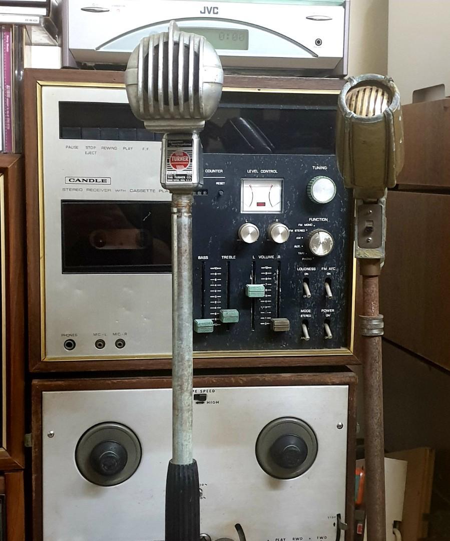 Vintage mic / microphone /mike (rental only)