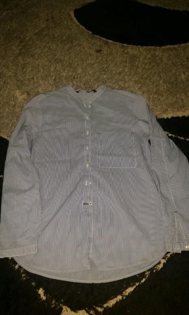 Zara Women Stripe Blouse