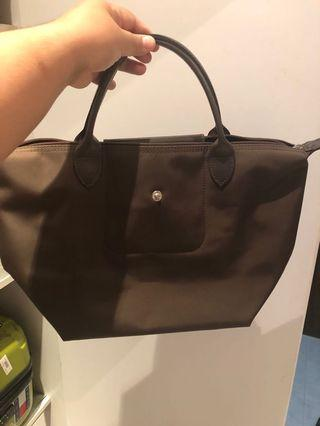 Longchamp (Brown)(Medium)