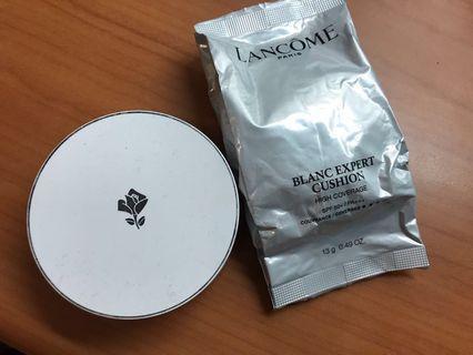 蘭蔻LANCOME激光煥白輕感氣墊粉餅蕊無瑕持久版+盒