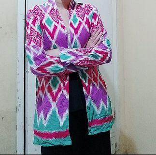 Blouse batik ulos
