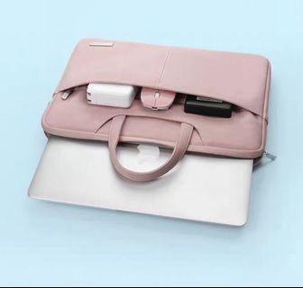 """Pink laptop bag 13"""""""
