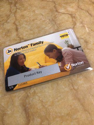 Norton Family防毒軟體
