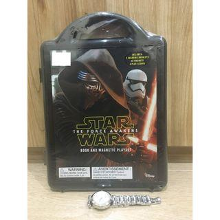 Star Wars: The Force Awakens: Magnetic Book and Play Set