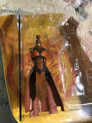 Marvel legends BAF okoye nakia black panther infinity war avengers