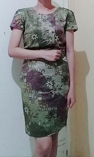 Dress batik ( Gabag butik )