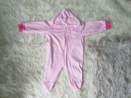 Hello Kitty Sleepsuit 3-6 bulan