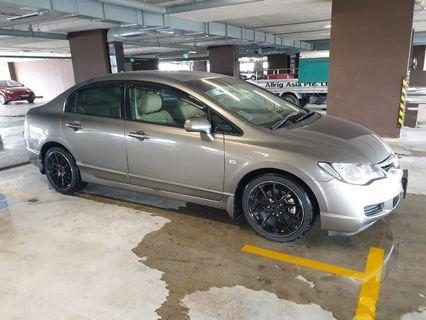 Honda civic 1.6 auto for rent! Welcome GOJEK/GRAB/TADA/RYDE/PERSONAL USE