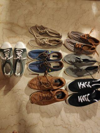 Casual Shoes - 7 pairs size 45
