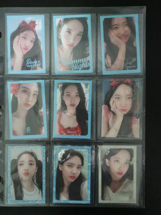 twice nayeon dtna full set pcs