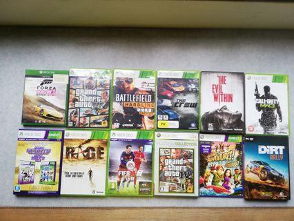 URGENT SALE!!!!🔥        Xbox and pc games for sale!