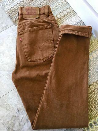 Levi's rare vintage 512 jeans