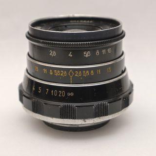 INDUSTAR-61 L/D 53mm f2.8 L39卡口