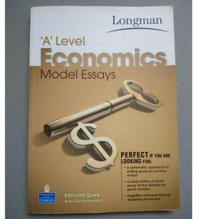 A Levels Economic Model Essays