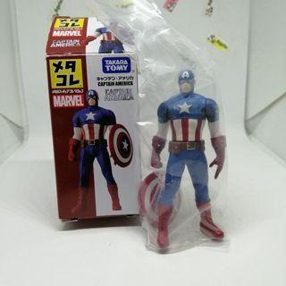 Marvel Comics Avengers Captain America Metacolle figure (original)