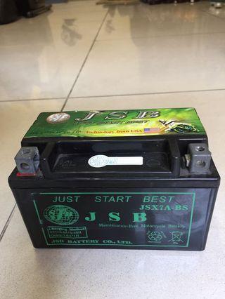 二手 中古 台灣-廣隆JSB JSX7A-BS/ 七號7號機車電池電瓶