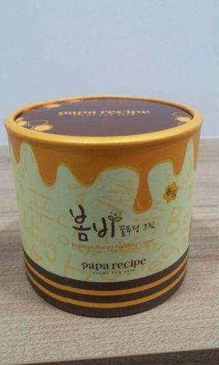 韓國 Papa Recipe 春雨 蜂蜜果凍超滋潤面霜. 135ml。Bombee Honey Pudding Cream