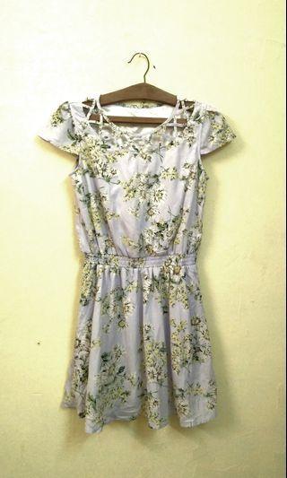 Floral dress short dress #GayaRaya