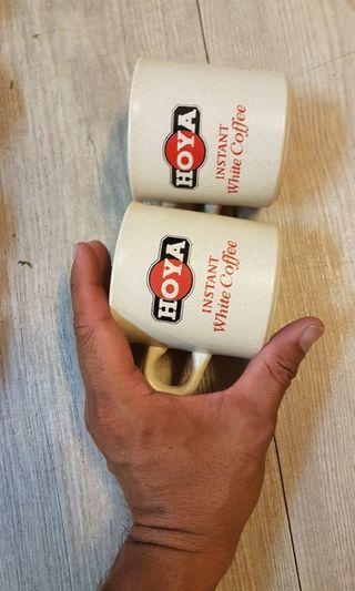 Clayton cups with brand