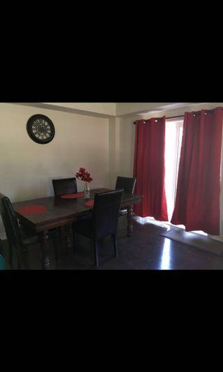 Selling entire dining room set & 2 bar stools