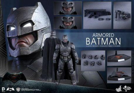 Armored Batman BVS Hot Toys