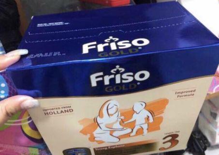 Friso Gold Stage 3 (3x400g) Milk Powder