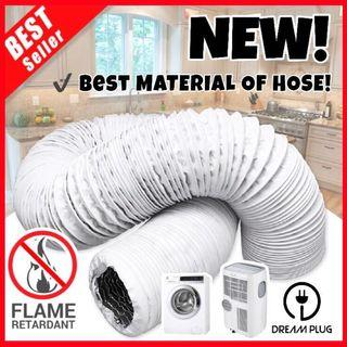 ⚡️PVC Hose for Portable aircon, Dryer, Kitchen hood and more! Duct/ducting/vent/pipe/aircooler/fan/air conditioner/aluminum