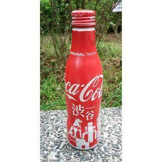 日本可口可樂涉谷城市鋁樽一枝