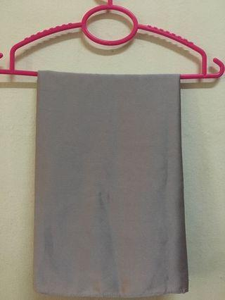 Matte Satin Grey Shawl #GayaRaya