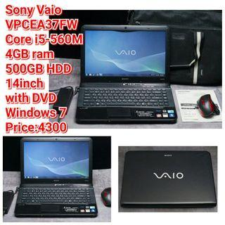 Sony Vaio  VPCEA37FW