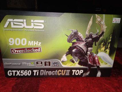 Asus GTX 560 Ti DirectCU II TOP