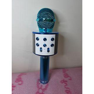 🚚 藍芽麥克風 K歌神器 可一鍵消原音 有魔音(變聲)功能 音質優美