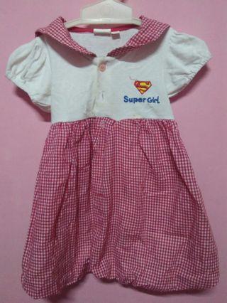 Dress anak Super Girl