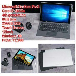 Microsoft Surface Pro3 Core i7-4650u
