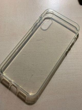 🚚 iPhone XR casing - transparent, soft case