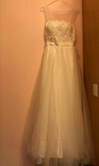 婚紗 輕婚紗 晚裝 Wedding Dress Perwedding gown