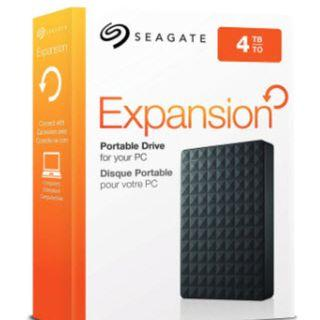 Portable Hard Disk 4tb Seagate Expansion 4TB Portable HDD