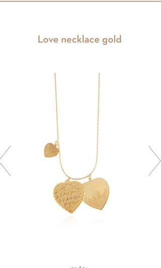 Gas Bijoux Love Necklace