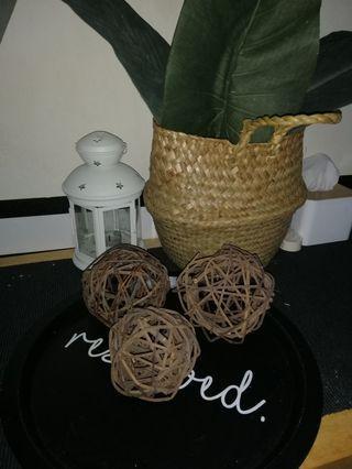 Wood Ball Handmade