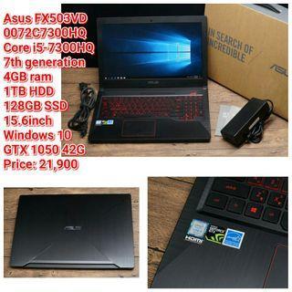 Asus FX503VD 0072C7300HQ Core i5-7300HQ 7th generation