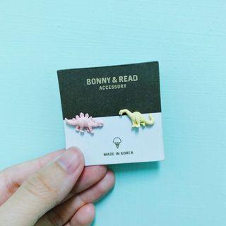 🚚 Bonny&Read 恐龍耳環🦕