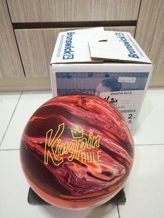 Undrilled 15lbs Brunswick Kingpin Rule Bowling Ball