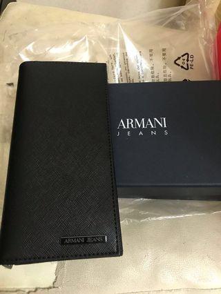 🚚 降價!自售 阿瑪尼 Armani Jeans 長夾全新