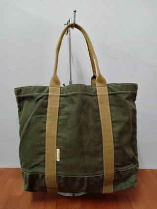 Cedar key canvas tote bag